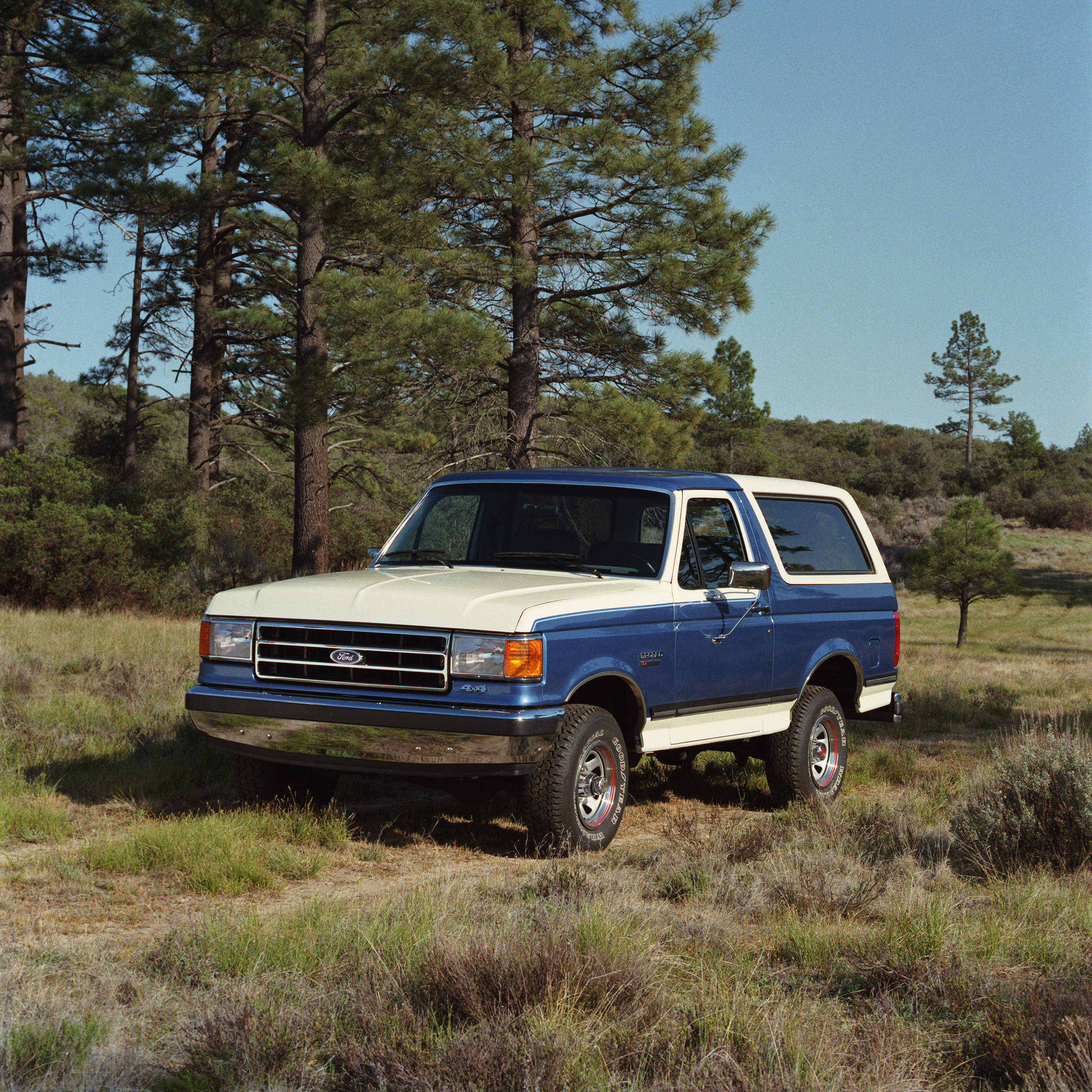 Fourth Generation 1987 1991 Not As Truck Like Still A Bronco