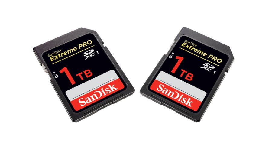 1 terabyte sd card