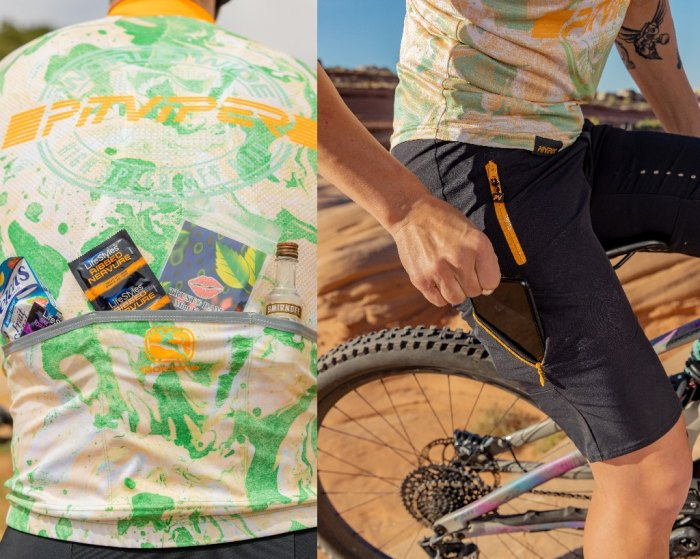 HSOR MTB Shorts and LS Jersey