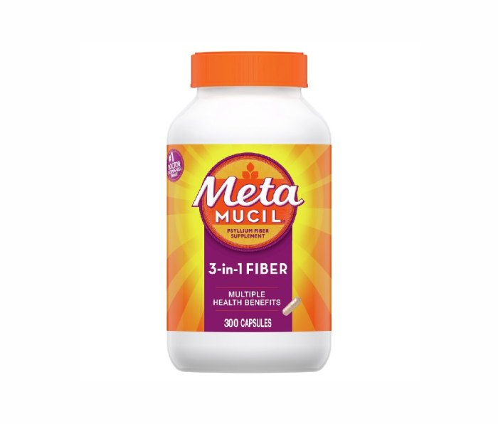 Metamucil 3-in-1 Fiber Supplement