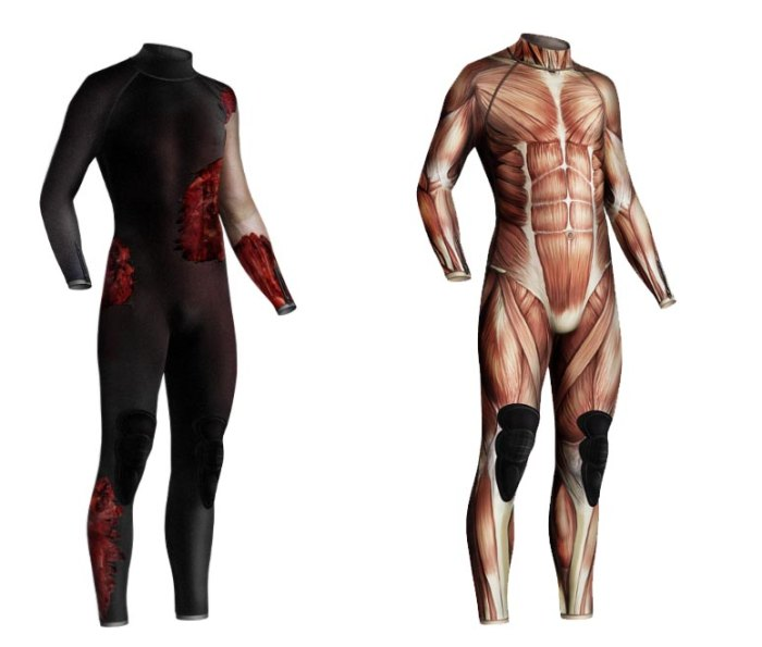 Scary Wetsuits