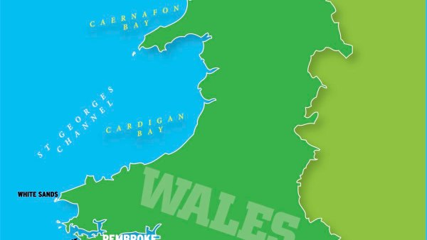 Mapof wales