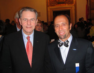 ISA President Fernando Aguerre with IOC President Jaques Rogge