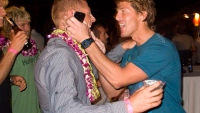 Mick Fanning World Title Party