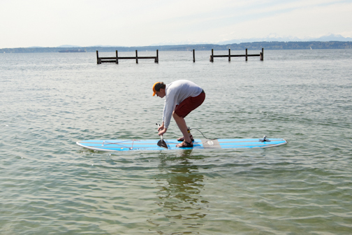 skills, how to SUP, 4 Steps to Standing Up, standing up