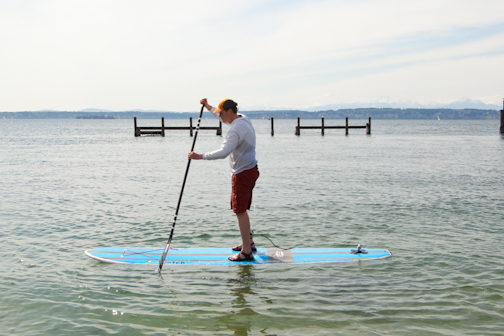 How To Sup 4 Steps Standing Up