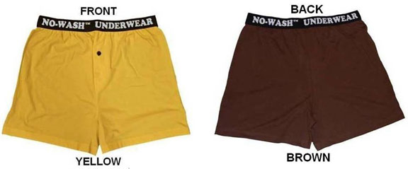 NO-WASH UNDERWEAR in Skateboarder Magazine - Men's Journal