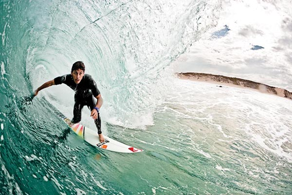 Jeremy Flores gives you one good reason to visit the southwest corner of France. Photo: Dorsey