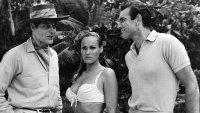 Jack Lord, Ursula Andress, and Sean Connery in 'Dr. No'