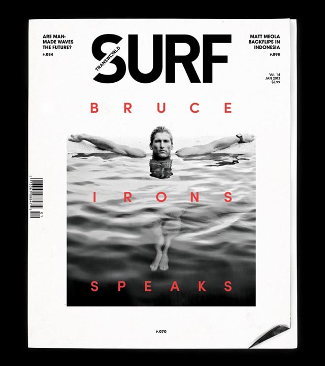 Bruce Irons Cover