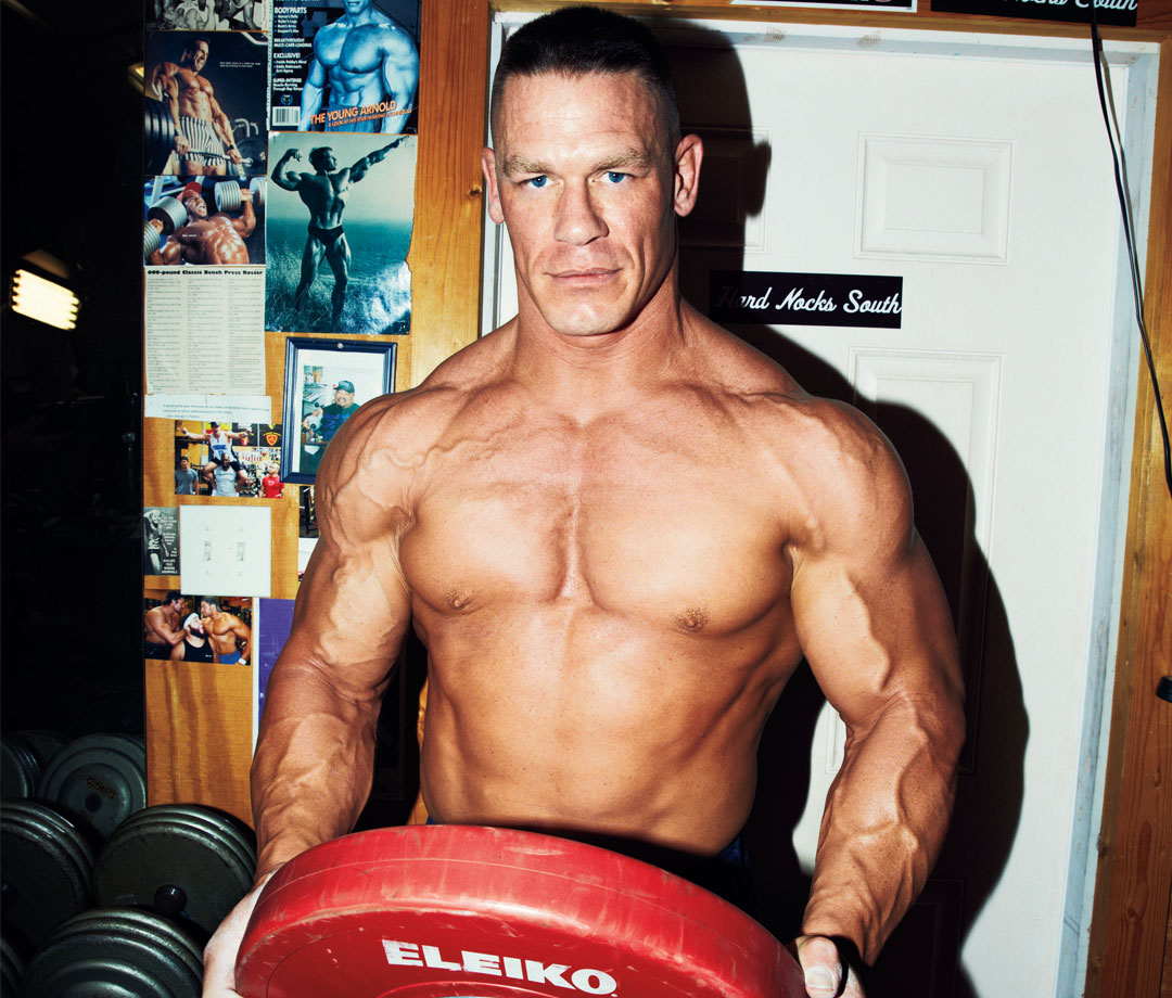 John Cena's 6-Week Workout Program to Build Size and Strength