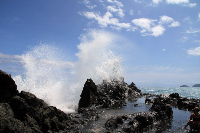 All photos of the kayaking trip to the Mokulua Islands are by Johnie Gall and Brandon Scherzberg