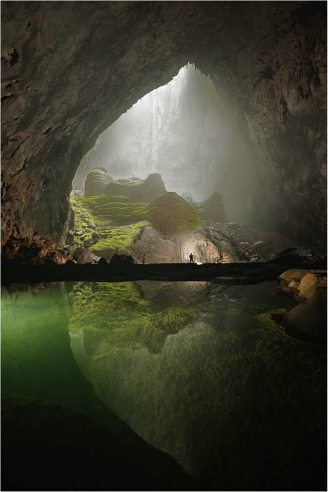 Hang son doong. Photo from Oxalis Adventure Tours Facebook page