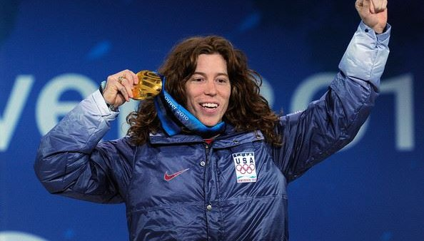Vancouver gold medal from shaun white fb page