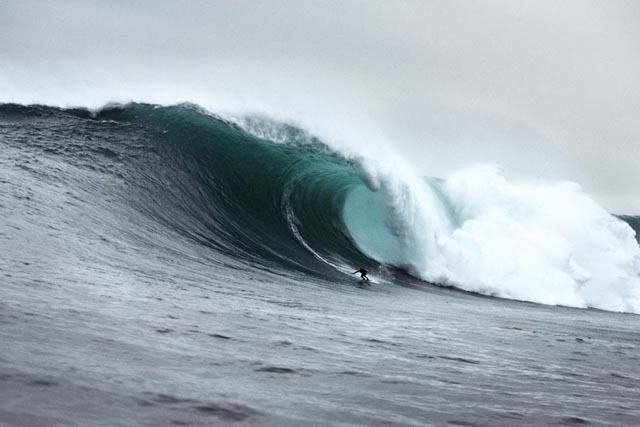 Greatest waves: Greg Long at Dungeons; photo by Al Mackinnon