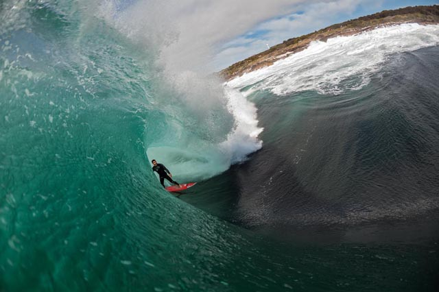 Greatest waves: Richie Vaculik at Ours; photo by Spencer Hornby
