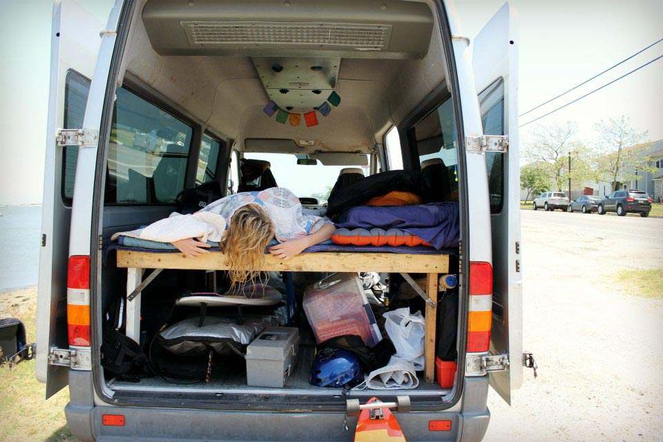 Living out of your car during a road trip has its perks photo by Brandon Scherzberg