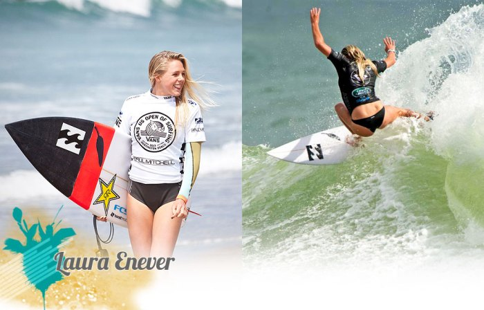 Hottest girls in surfing - Laura Enever.  Photos courtesy of ASP