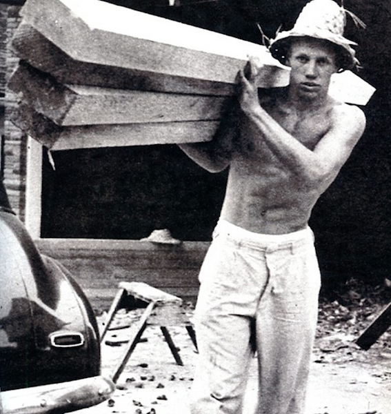 Hobie Alter got his start making wood surfboards in the late 40s, but revolutionized the board building process in the 50s, helping launch a multi-billion dollar industry. Photo: Surfer magazine archives