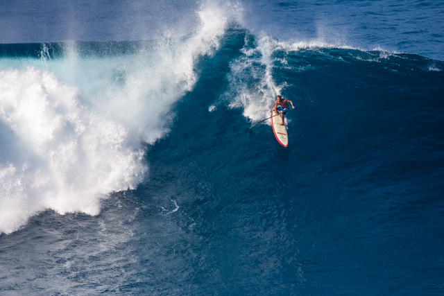 His Burliness: Forehand or backhand, Laird Hamilton has earned the title. Photo: Erik Aeder
