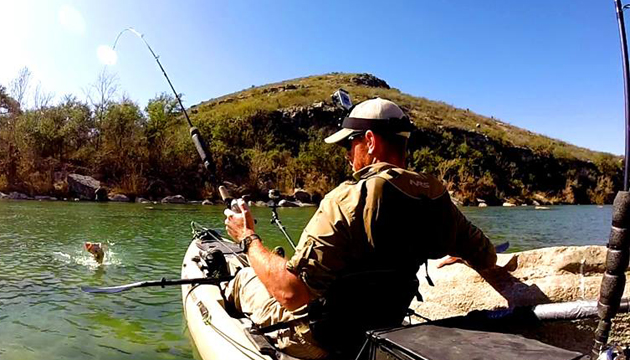 Robert Field spent five days on the Devil's River. He caught plenty of largemouth, lived to tell the tale, and shot one heck of a kayak fishing video.