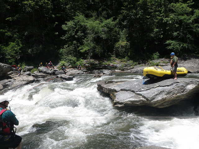 Cue the banjo music: river rafting on the Chattooga. Photo: Chattahoochee-Oconee National Forest