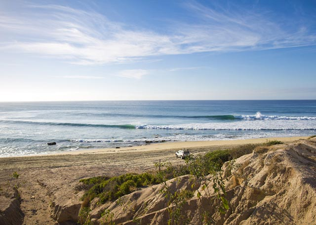 An early morning treat in Cabo San Lucas. Photo: Jimmicane/Surfing magazine