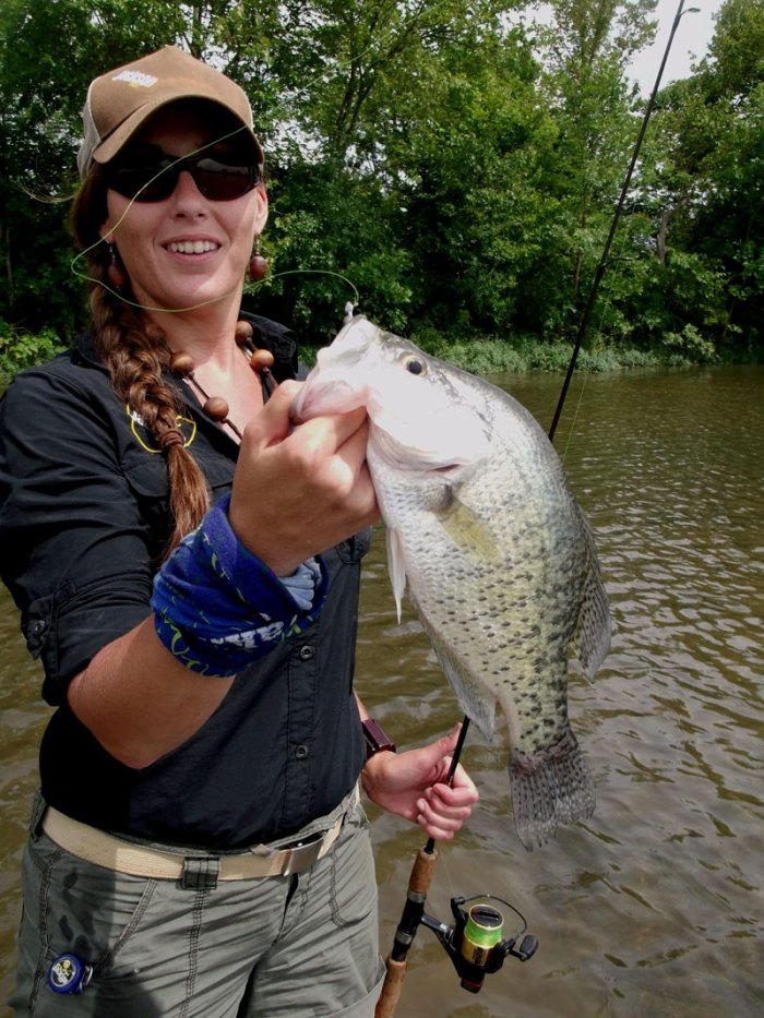 Want to catch 50 fish in a day? You can, if you paddle for panfish.