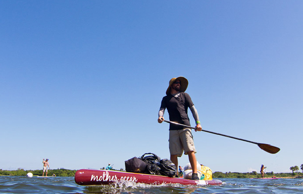 Justin Riney is hitting Florida's waters again, this time in the Everglades. Photo: Greg Panas