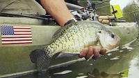 A big 'ol slab crappie will fall for many baits. The challenge is to find them first.