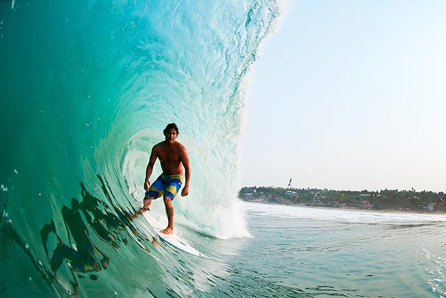 Puerto Escondido local Oscar Moncada is one of the many talented surfers to call this place home; photo: Corey Wilson/Surfing magazine