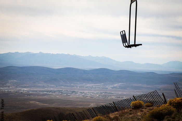 The SnoBowl is located five miles north of Elko, a mining community off of I-80 in Nevada. Photo: Derek Taylor