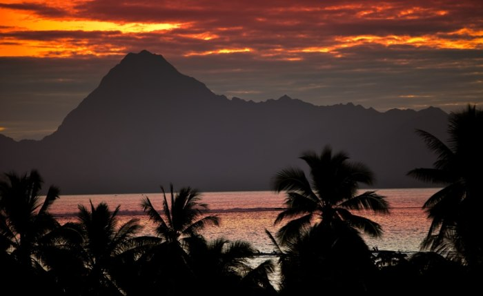 Tahiti, as close to paradise as a surf destination gets. Photo courtesy Shutterstock