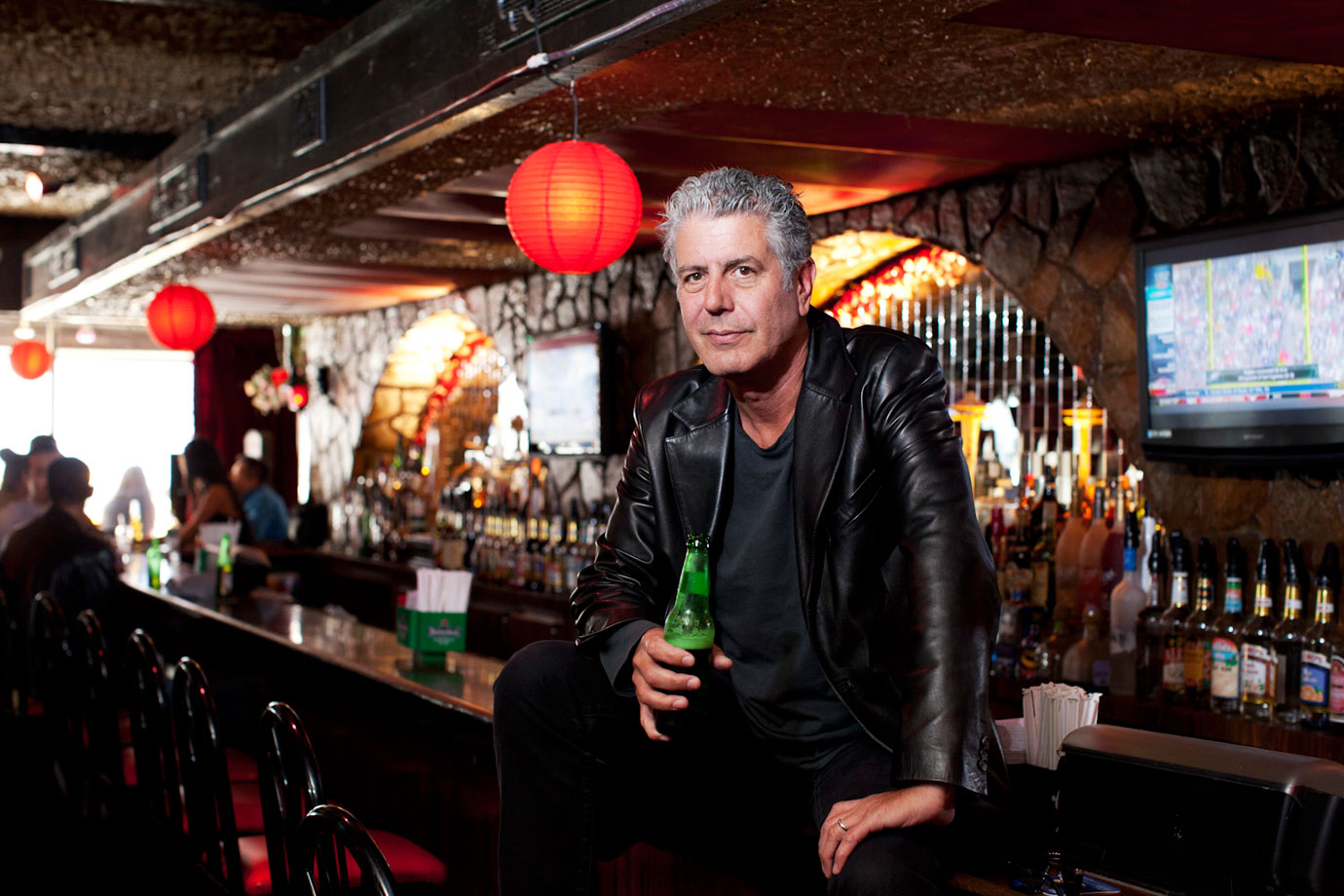 Anthony Bourdain on Writing, Hangovers, and Finding a Calling