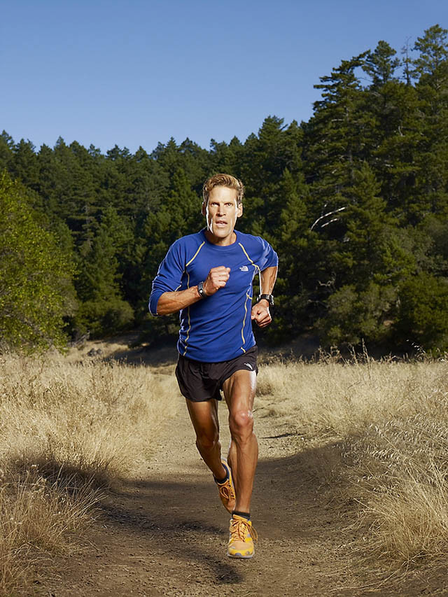 """Dean Karnazes once ran three days and three nights with no rest, earning himself the name """"Ultramarathonman""""; Photo courtesy of Quarterly"""