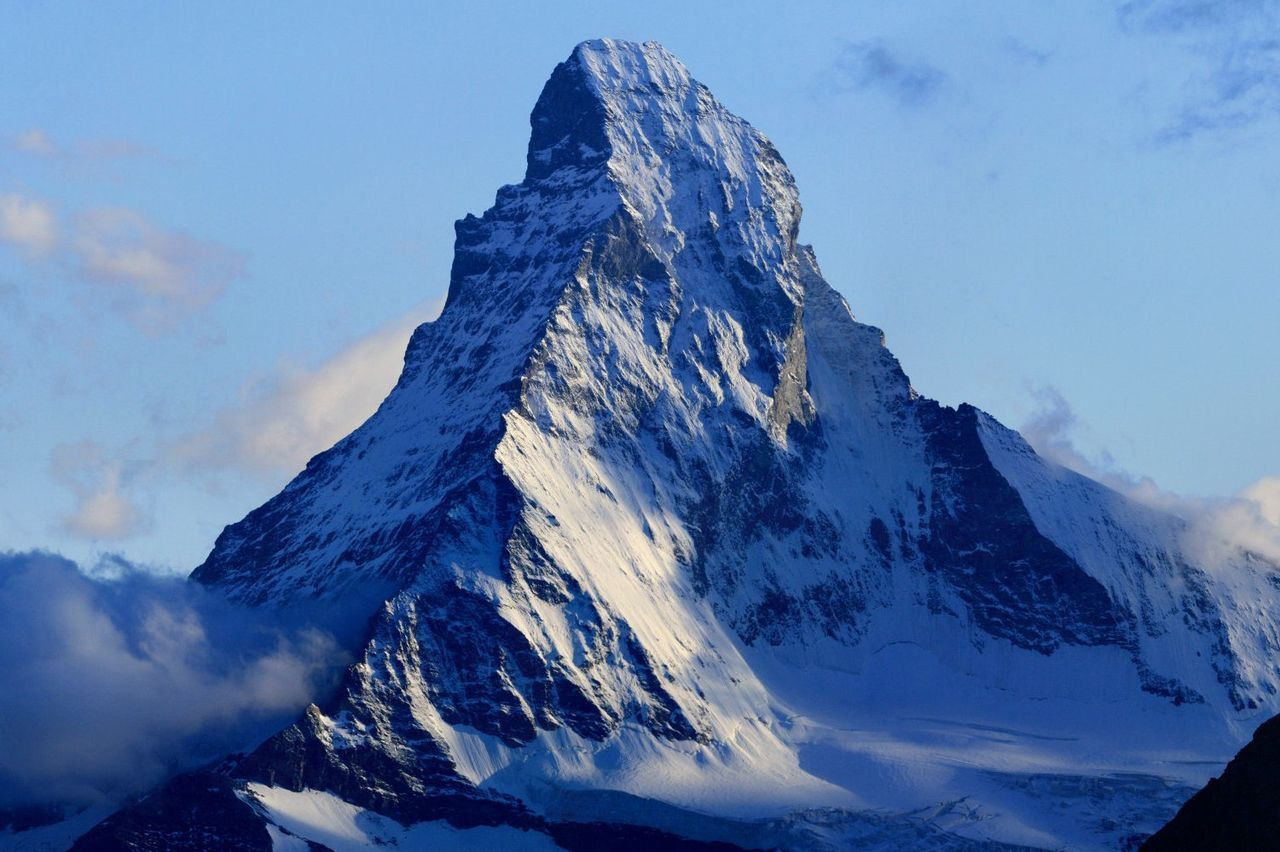 The Matterhorn. Photo by Zacharie Grossen/Wikimedia Commons