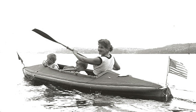 When Werner launched a slick new website, it came complete with a cherished family paddling history. It's a must see. Werner Paddles photo.