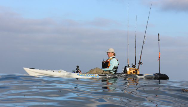 Every fishing kayak manufacturer comes up with its own weight capacity ratings. Keep it in mind when you're shopping - the only way to know whether a boat is fit for your intended use is to test fish it with a full gear load. Todd Lynch photo.