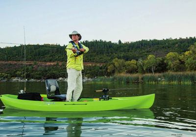 Nucanoe provides self-bailing and maximum weight capacities for each of its heavy haulers. Jesse Coble photo.