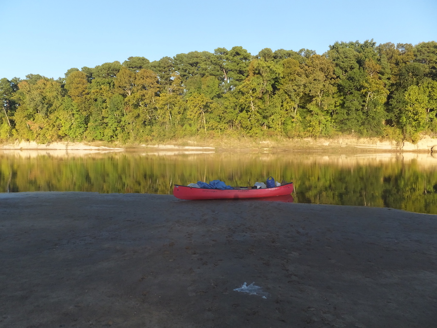 alone on red river
