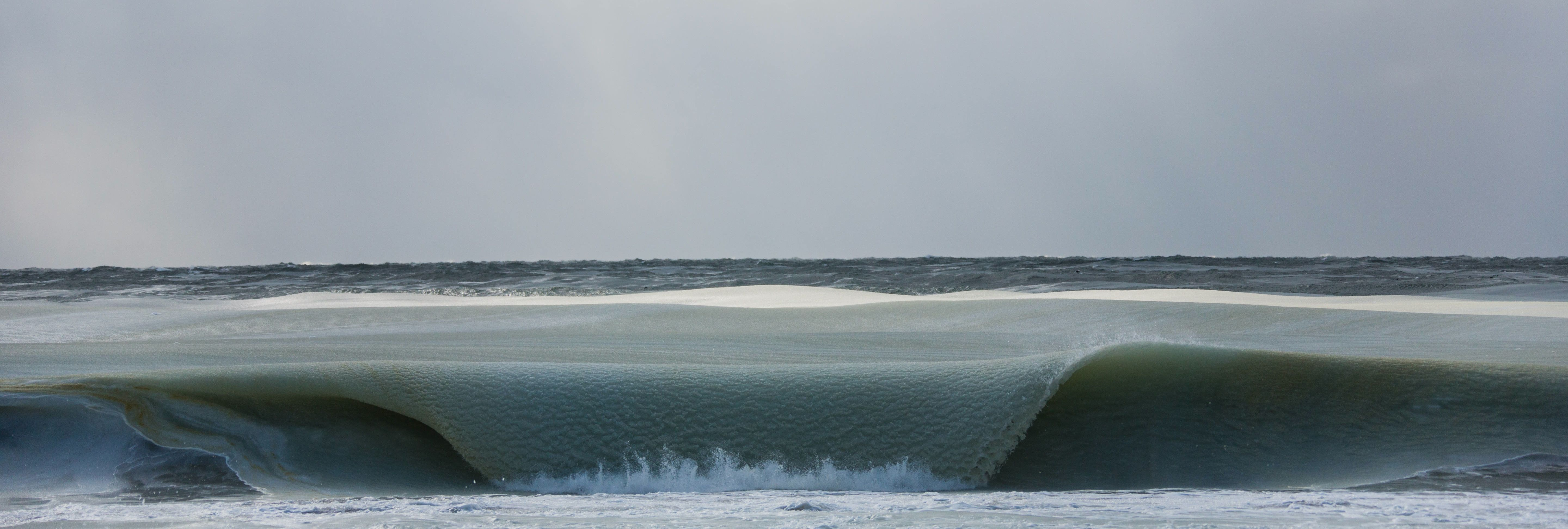Frozen wave of Nantucket. Photo by Jonathan Nimerfroh used by permission