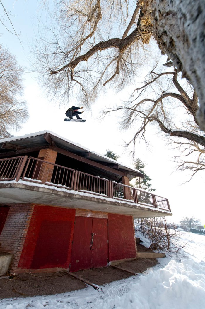 Action sports photography oftentimes means staying out of the way of the athlete; Photo by Haywood-Sullivan