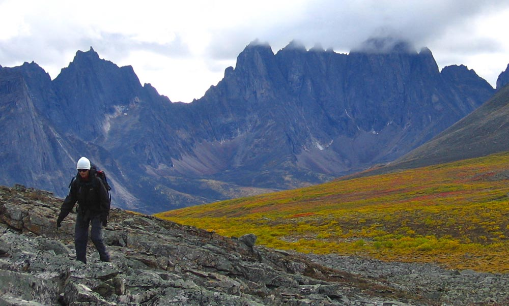 "Jagged, storm-covered peaks have earned the Tombstone wilderness the nickname ""Patagonia of the North""; Photo courtesy of Yukon Wild"
