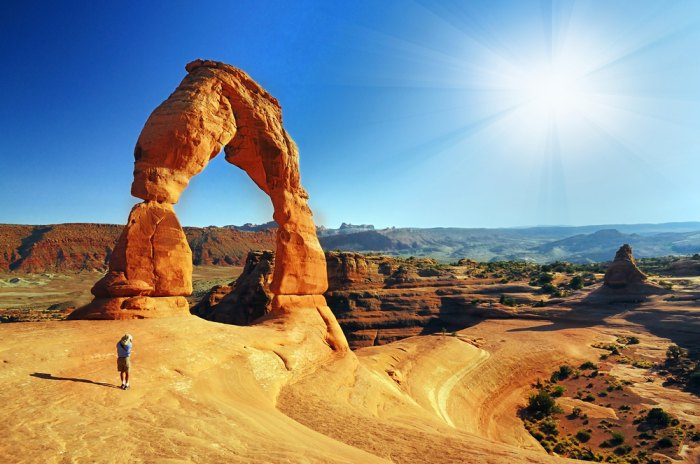 Delicate Arch, Arches National Park. Photo courtesy of Shutterstock.com