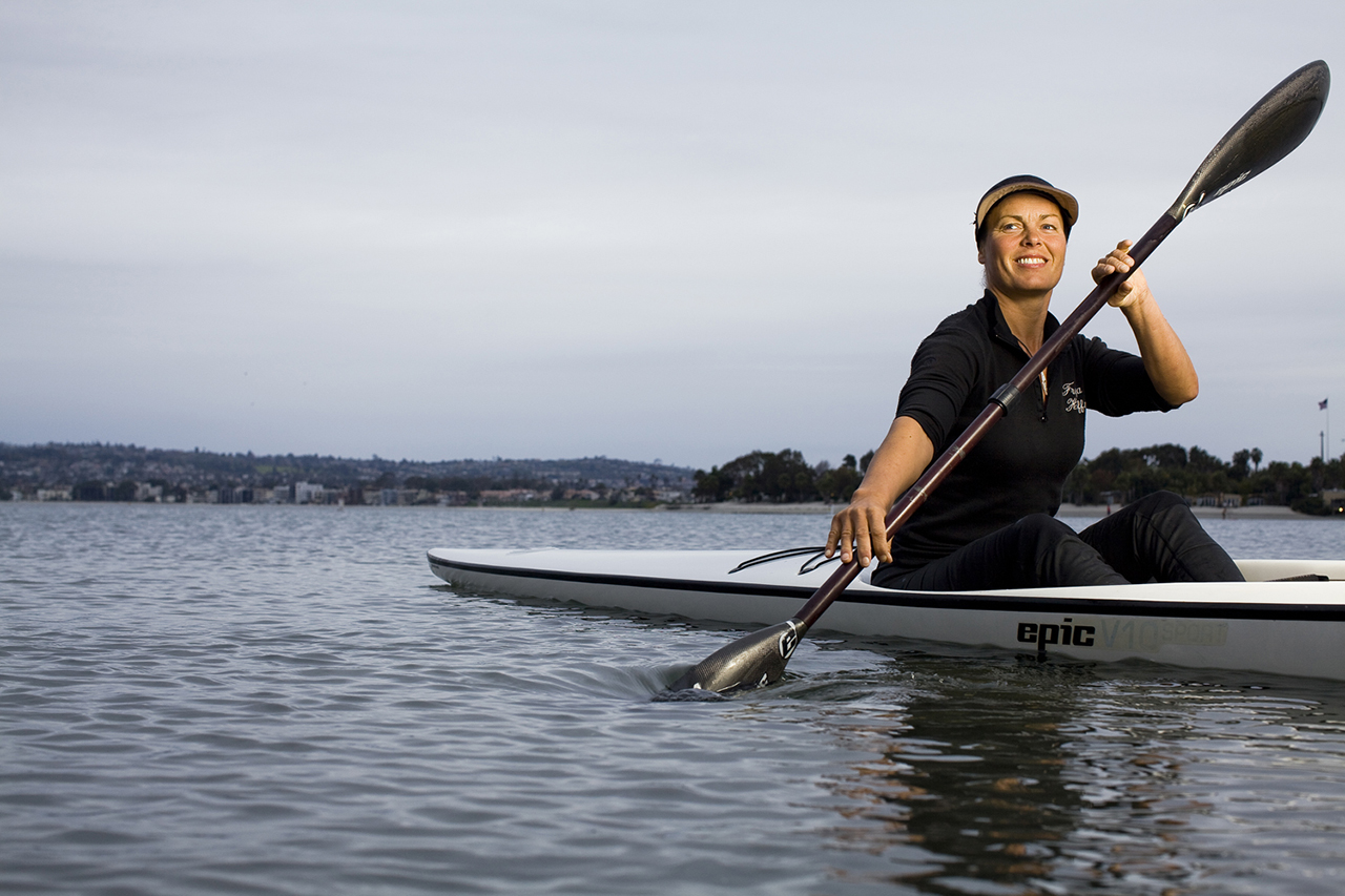 Hoffmeister during a cover shoot with Canoe & Kayak magazine. Photo Robert Zaleski