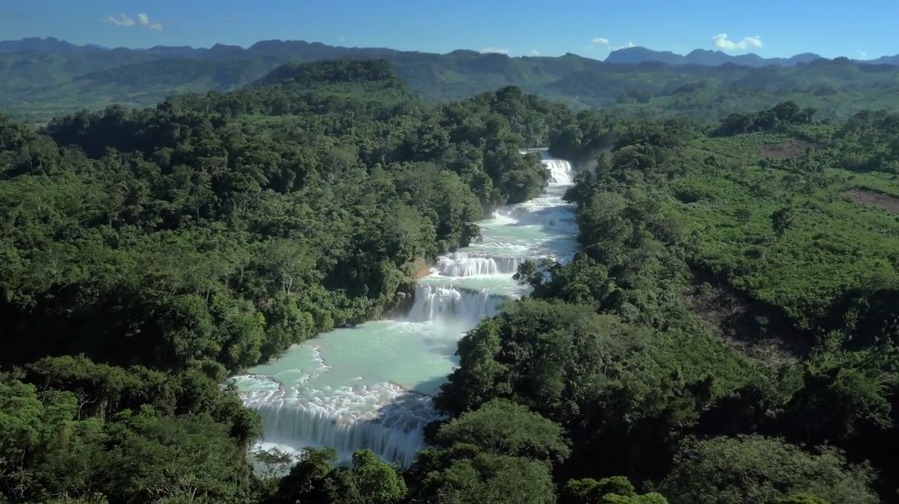 River Roots' aerial footage of the Rey Del Rio Waterfall World Championship's finale event course, set on a section of Chiapas, Mexico's Agua Azul that the area's indigenous Maya people call Bolom-Ahau, or The Nine Kings.