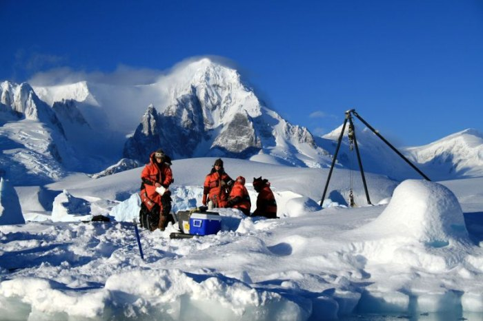 Stacie Murray was tasked with learning how to cook tasty meals in inhospitable terrain as a field station chef. Photo: Courtesy of Murray