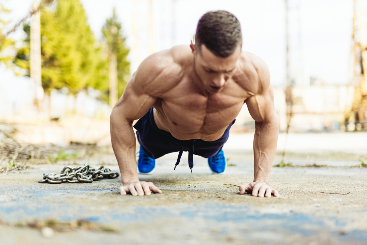 how to get bigger arms with pusups
