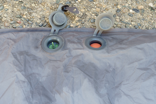 sleeping-pad-review Exped Synmat UL 7 Valves