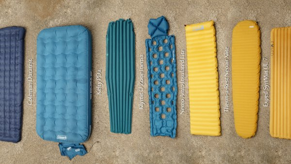 All pads Side by Side Inflated 1